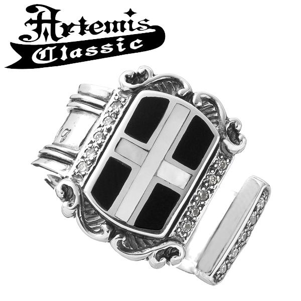 アルテミスクラシック クロスエンブレムリングRD Artemis Classic アルテミスクラッシック リング メンズ シルバー925 メンズリング シルバーリング 男性 メンズ指輪 男性用 指輪 ブランド プレゼント 人気 彼氏
