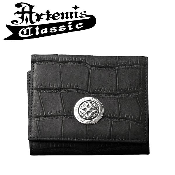 アルテミスクラシック ショートウォレットヌバッククロコスタイル Artemis Classic アルテミスクラッシック ウォレット メンズ メンズウォレット 財布 男性 男性用財布 ブランド プレゼント 人気 彼氏 おしゃれ