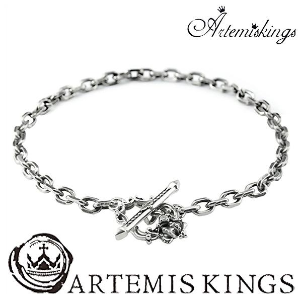 Artemis Kings クラウン チェーンブレスレット アルテミスキングス メンズ レディース ブレスレット シルバー ブレス シルバー925 シルバーブレスレット メンズブレスレット ブランド プレゼント 人気 おしゃれ