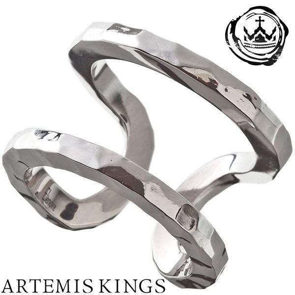 Artemis Kings ダブルカフリング レディースサイズ 9号~14号 フリーサイズ Elenore エレノア コラボ アルテミスキングス モード メンズ リング レディース 男性用 女性用 銀指輪 メンズリング 男性用指輪 ブランド プレゼント 人気 かわいい おしゃれ