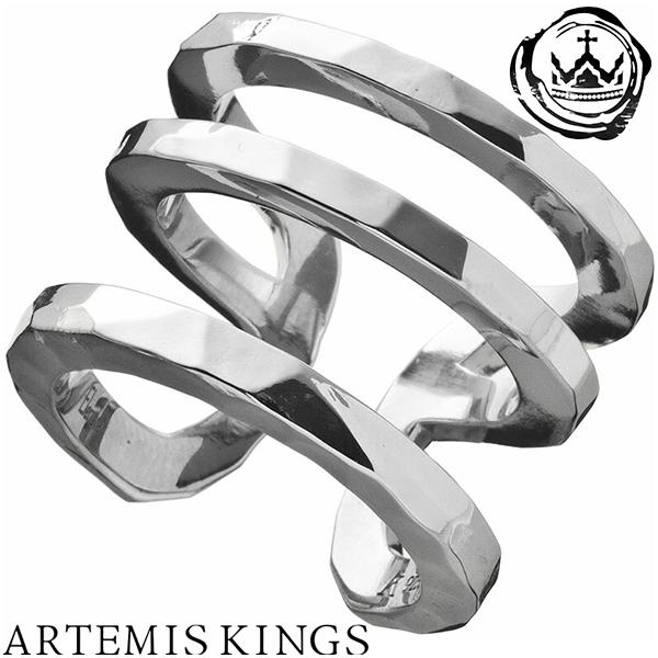 Artemis Kings トリプルカフリング レディースサイズ 9号~14号 フリーサイズ Elenore エレノア コラボ アルテミスキングス モード メンズ リング レディース 男性用 女性用 銀指輪 メンズリング 男性用指輪 ブランド プレゼント 人気 かわいい おしゃれ