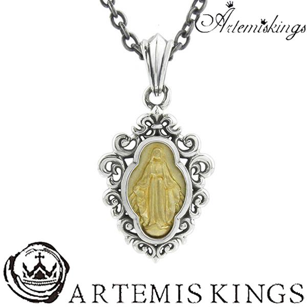 Artemis Kings アンティークマリアペンダント アルテミスキングス メンズ ネックレス レディース 男性用 女性用 シルバーネックレス メンズネックレス 男性用ネックレス ブランド プレゼント 人気 かわいい おしゃれ