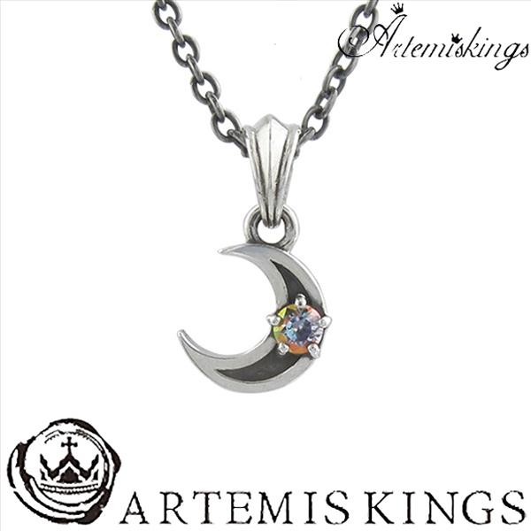Artemis Kings ミスティックムーンチャーム アルテミスキングス メンズ ネックレス レディース 男性用 女性用 シルバーネックレス メンズネックレス 男性用ネックレス ブランド プレゼント 人気 かわいい おしゃれ