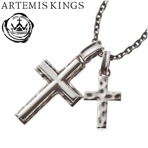 Artemis Kings ダブルクロスペンダント(チェーン付) アルテミスキングス メンズ ネックレス レディース 男性用 女性用 シルバーネックレス メンズネックレス レディースネックレス 女性用ネックレス ブランド プレゼント 人気 かわいい おしゃれ