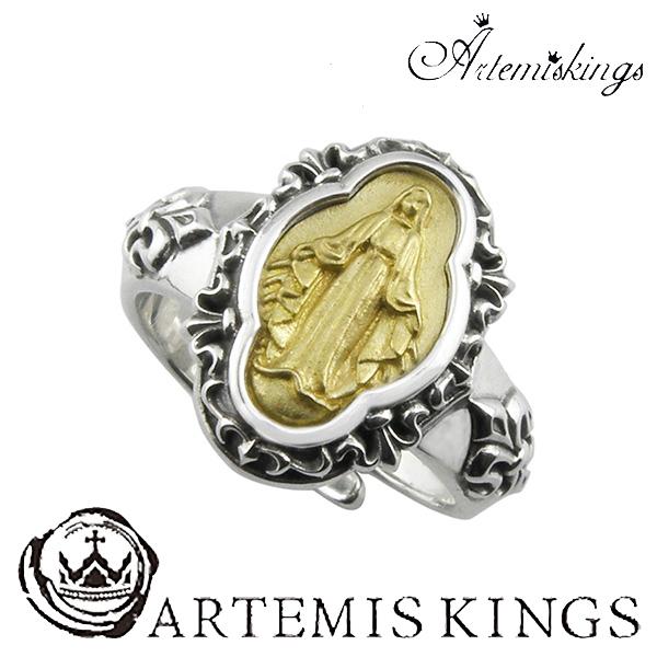 Artemis Kings アンティークマリアリング フリーサイズ アルテミスキングス アンティーク マリア メンズ リング レディース 男性用 女性用 銀指輪 メンズリング 男性用指輪 ブランド プレゼント 人気 かわいい おしゃれ