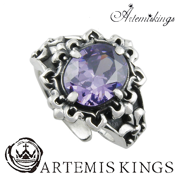Artemis Kings ゴシックストーンリング フリーサイズ アルテミスキングス ゴシック ジルコニア メンズ リング レディース 男性用 女性用 銀指輪 メンズリング 男性用指輪 ブランド プレゼント 人気 かわいい おしゃれ
