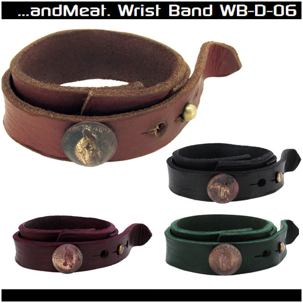 And Meat A Damage Processing Maria Concho Brown Black Wine Red Green Leather Bracelet