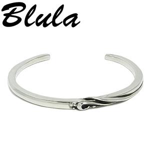 Blula クラウズ 細 シルバーバングル 腕周り約17cm 925 銀の蔵 メンズブレス 男性用 バングル ブランド プレゼント 人気 彼氏 おしゃれ