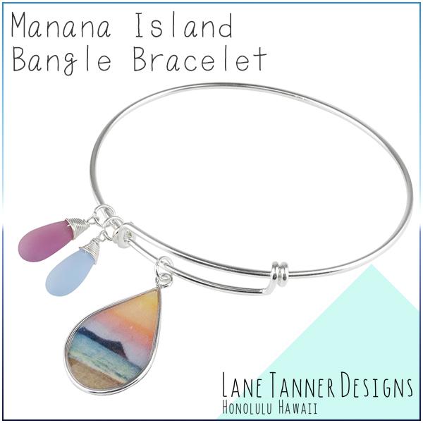 LANE TANNER DESIGNS マナナアイランド バングル ブレスレット シルバー レディース 女性用 シルバー925 ハワイ ハワイアン 南国 サーファーレディースブレス ブランド プレゼント 人気 かわいい おしゃれ
