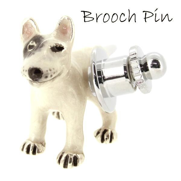 ブルテリア 犬 シルバー ピンブローチ SILVER 925 シルバーアクセサリー 留め具 銀装飾 ブローチ 動物 ドッグ シルバーピンブローチ プレゼント 人気 おしゃれ