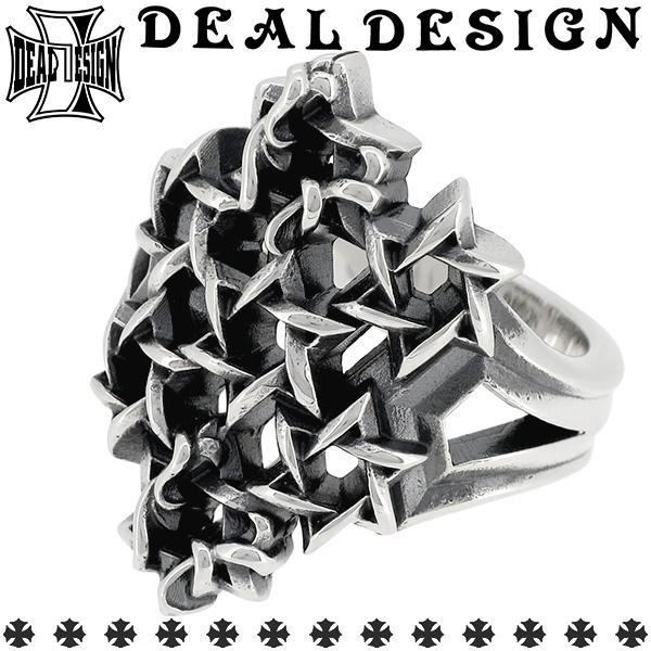 DEAL DESIGN ディールデザイン スターフォレストリング 7号~23号 シルバーリング 指輪 シルバー925 メンズ ブランド DEALDESIGN ロック パンク スター 星 六芒星 トライバル 透かし パターン エッジ シャープ 人気 おしゃれ