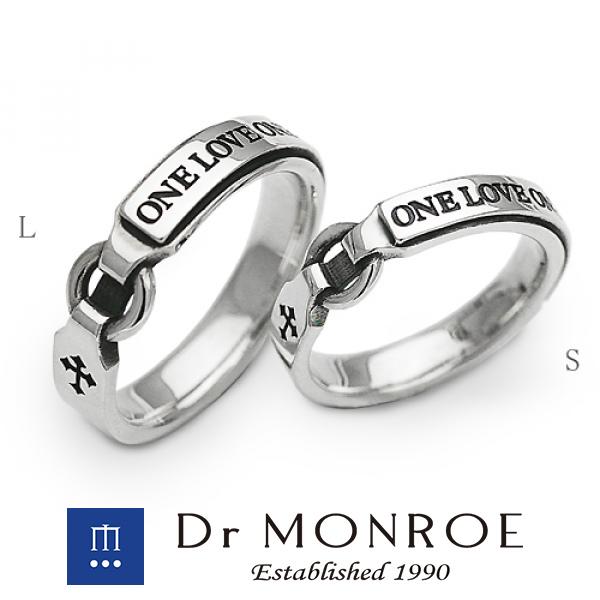 Dr MONROE ドクターモンロー ユニセックス&ペアリング L 英語 英字 英文 メッセージ クロス 十字 ペア ブランド シルバーアクセサリー シルバー925 シルバー スターリングシルバー シルバーリング 指輪 メンズ レディース アクセサリー ギフト プレゼント おしゃれ