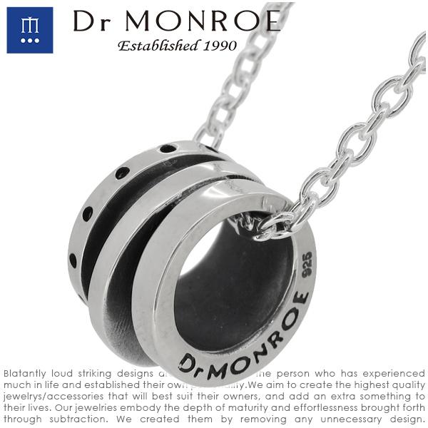 Dr MONROE ドクターモンロー ホイールリング ペンダント チェーン無し シルバーネックレス シルバーペンダント メンズネックレス シルバー925 シルバーアクセ メンズ ブランド DRMONROE きれいめ リングネックレス メカニカル 機械 無機質 人気 おしゃれ