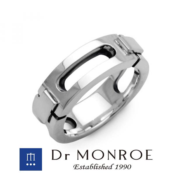 Dr MONROE ドクターモンロー ユニセックス&ペアリング ラージタイプ シンプル モード スタイリッシュ メカ メカニカル 機械 マシン ビス ペア ブランド シルバーアクセサリー シルバー925 シルバー シルバーリング 指輪 メンズ レディース アクセサリー