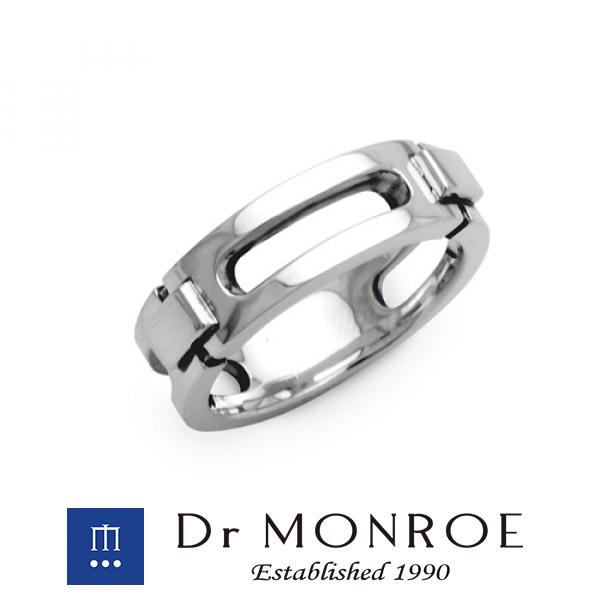 Dr MONROE ドクターモンロー ユニセックス&ペアリング スモールタイプ シンプル モード スタイリッシュ メカ メカニカル 機械 マシン ビス ペア ブランド シルバーアクセサリー シルバー925 シルバー スターリングシルバー シルバーリング 指輪 メンズ レディース
