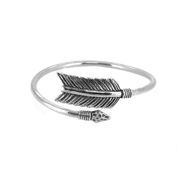 アロー バングル ネイティブ 矢 ブレスレット バングル 腕輪 シルバー925 銀 シルバーアクセサリー メンズ レディース 男性 女性 アクセサリー ギフト プレゼント おしゃれ