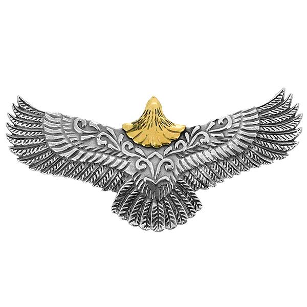イーグル ペンダントトップ(チェーンなし) ネイティブ 鷲 アラベスク ネックレス ペンダント シルバー925 銀 シルバーアクセサリー メンズ レディース 男性 女性 アクセサリー ギフト プレゼント おしゃれ
