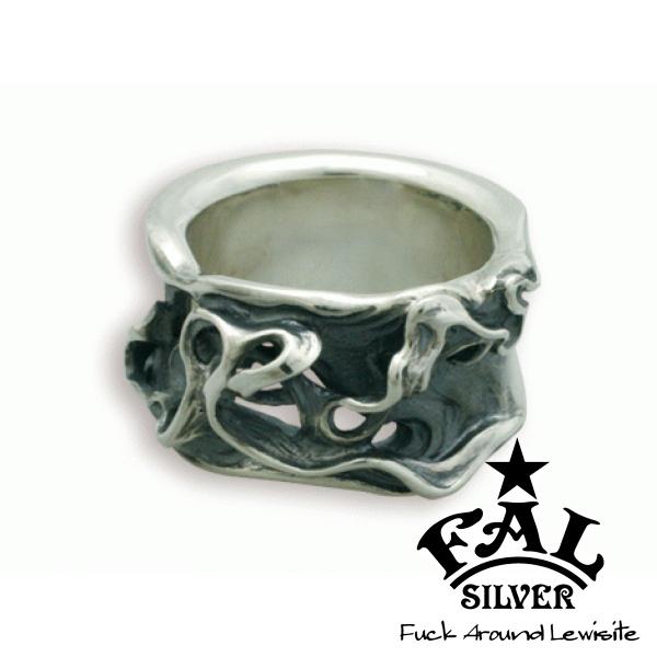 F.A.L ブレイズ スウェイングLリング リング 炎 火 ファイア エフエイエル リング 指輪 シルバー925 銀 シルバーアクセサリー メンズ レディース 男性 女性 アクセサリー ギフト プレゼント おしゃれ