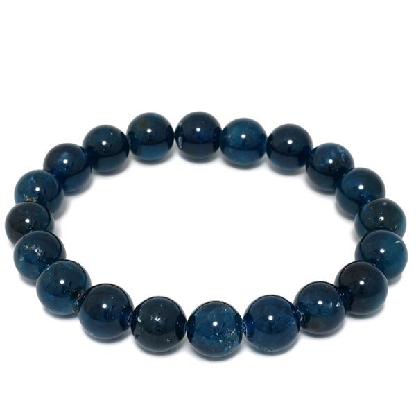 10mm 19cm 高品質 ブルー アパタイト ブレスレット メンズL、レディースLLサイズ 天然石 パワーストーン ブルーアパタイト メンズ レディース アパタイトブレスレット 天然石ブレスレット プレゼント 人気