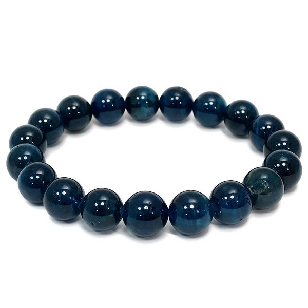10mm 18cm 高品質 ブルー アパタイト ブレスレット メンズM、レディースLサイズ 天然石 パワーストーン ブルーアパタイト メンズ レディース アパタイトブレスレット 天然石ブレスレット プレゼント 人気
