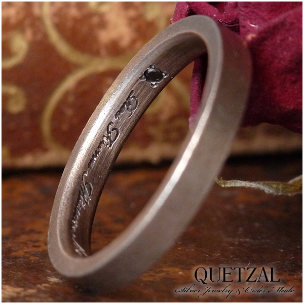 Quetzal フラットリング シルバーリング 7号~24号 ブランド リング シルバー925 メンズ ケツァール ケツアール アンティーク ヴィンテージ ゴシック ロココ 唐草 アラベスク 指輪 建築 美術 プレゼント 人気 おしゃれ