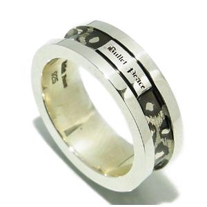 BULLET PEACE レオパルド シルバーリング 7~23号 指輪 リング Ringメンズ レディース 男性女性指輪 ブランド プレゼント 人気 彼氏 かわいい おしゃれ