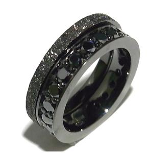 BULLET PEACE ブラックジルコニア DEAR ROSE BLACK シルバーリング 9~23号 指輪 リング Ringメンズ レディース 男性女性指輪 ブランド プレゼント 人気 彼氏 かわいい おしゃれ