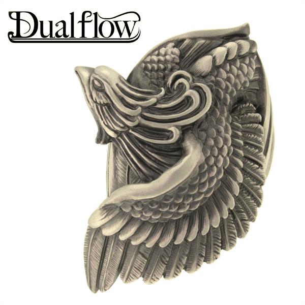 Dualflow 鳳凰 シルバーリング 9~28号 メンズ リング シルバー ブランド シルバー925 男性 指輪 鳥 和風 和柄 デュアルフロウ プレゼント 人気 彼氏 おしゃれ