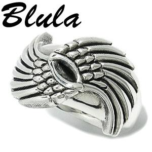 Blula ウィングス 小 シルバーリング 12~29号 メンズ リング ハードリング 925 男性用 指輪 メンズリング 男性用指輪 ブランド プレゼント 人気 彼氏 おしゃれ
