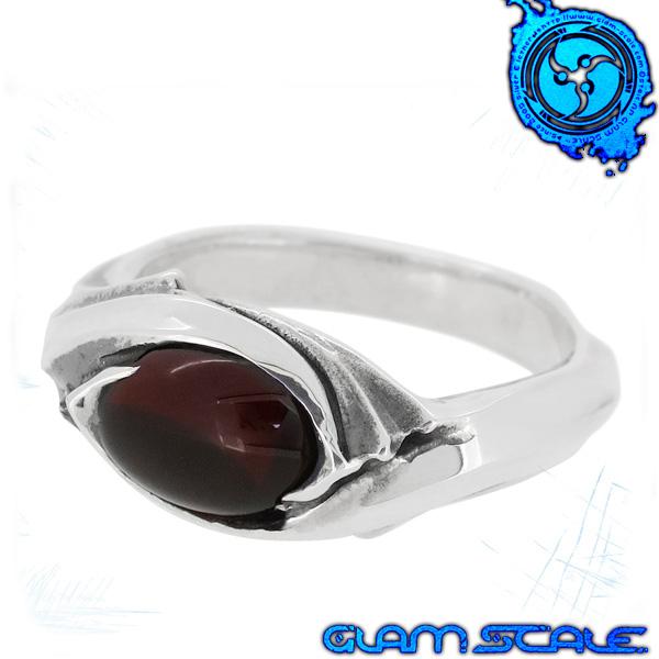 GLAM SCALE ER-001GN イヴォルバー シルバー リング 7~19号 ガーネット シルバー925 指輪 メンズ er001gn メンズリング 男性用指輪 グラムスケイル ブランド プレゼント 人気 彼氏 おしゃれ