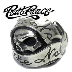 RAT RACE ラットレース ギブノーテイクノースカル 2 シルバーリング 7~30号 スカル リング メンズ スカルリング ドクロ 骸骨 シルバー925 男性用 指輪 銀 メンズリング 男性用指輪 ブランド プレゼント 人気 彼氏 おしゃれ