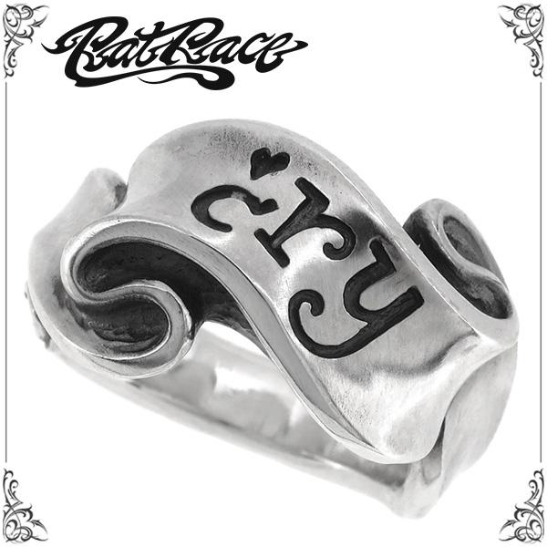 RAT RACE ラットレース r.l.d リボンリング クライ シルバーリング 5~30号 シルバーアクセサリー メンズ リング 男性用 指輪 シルバー925 ブランド メンズリング ピンキーリング ラットラブデザイン プレゼント 人気 彼氏 おしゃれ