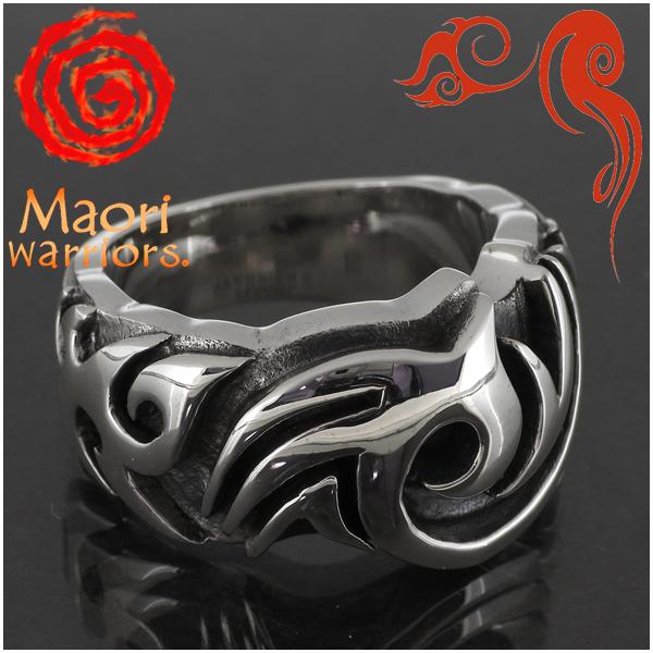 Maori warriors Tatoo タトゥ リング シルバー 15~21号 マオリウォリアーズ シルバー925 シルバーリング メンズ ブランド トライバル マオリ 指輪 ニュージーランド ハカ ラグビー メンズリング 男性用指輪 プレゼント 人気 彼氏 おしゃれ
