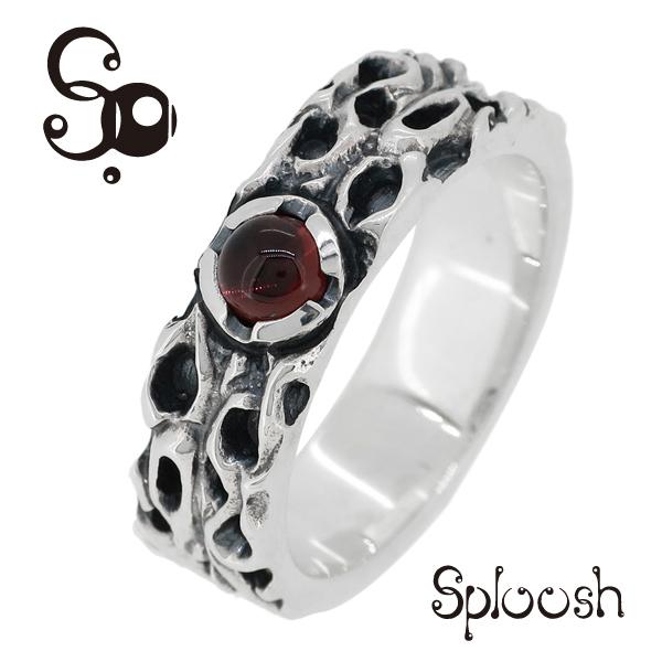 Sploosh R-30リング12~15号 ガーネット リング メンズ アクセサリー 男性用 指輪 メンズリング 男性用指輪 スプルーシュ ブランド プレゼント 人気 彼氏 おしゃれ