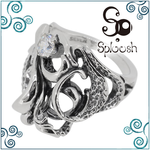 Sploosh R-54 リング 9~15号 ジルコニア メンズ アクセサリー 男性用 指輪 メンズリング 男性用指輪 スプルーシュ ブランド プレゼント 人気 彼氏 おしゃれ
