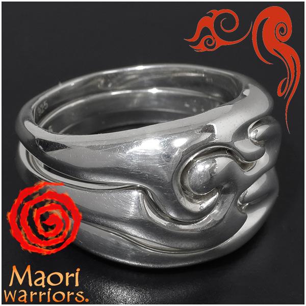 Maori warriors United 団結 リング シルバー 15~21号 マオリウォリアーズ シルバー925 3連 シルバーリング メンズ ブランド トライバル マオリ 指輪 ニュージーランド ハカ ラグビー メンズリング 男性用指輪 プレゼント 人気 彼氏 おしゃれ