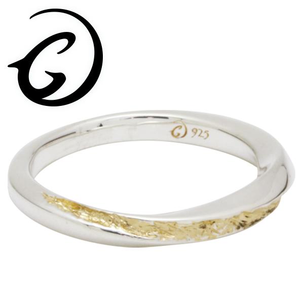 GIGOR ジゴロウ シルバー ベラニティーリング 1号~25号 シルバー925 ゴールドメッキ 18金 イエローゴールド メンズ レディース ブランド シルバーリング 脈 シンプル 指輪 G-DIAN series ジーディアンシリーズ メンズリング 男性用指輪 プレゼント 人気 彼氏 おしゃれ