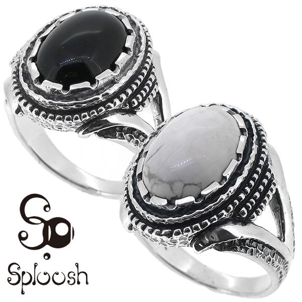 Sploosh R-67リング10~20号 オニキス マグネサイト リング メンズ アクセサリー 男性用 指輪 メンズリング 男性用指輪 スプルーシュ ブランド プレゼント 人気 彼氏 おしゃれ