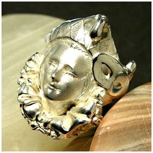 神話 ピエロリング 7号~23号 指輪 リング Ringメンズ レディース 男性女性指輪 プレゼント 人気 かわいい おしゃれ
