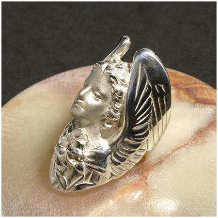 神話 天使ガブリエル シルバーリング 7~23号 シルバー リング メンズ レディース シルバー925 男性 女性 指輪 天使 ブランド プレゼント メンズリング 男性用指輪 人気 彼女 かわいい おしゃれ