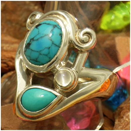 ターコイズ トルコ石 3ストーン シルバーリング 7~23号 メンズ レディース リング シルバー ネイティブ インディアンジュエリー 天然石 シルバー925 シルバーアクセサリー 男性 女性 指輪 Turquoise メンズリング 男性用指輪 プレゼント 人気