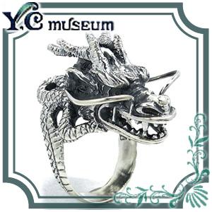 目前に構えし龍リング 7号~23号 指輪 リング Ringメンズ レディース 男性女性指輪 プレゼント 人気 かわいい おしゃれ