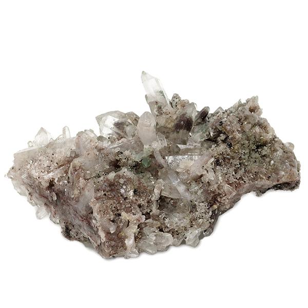 ヒマラヤ クル マナリ産 水晶クラスター 約168g ヒマラヤ水晶 クラスター 天然石 パワーストーン 水晶 浄化 原石 天然水晶 クォーツ ヒマラヤ水晶クラスター プレゼント 人気