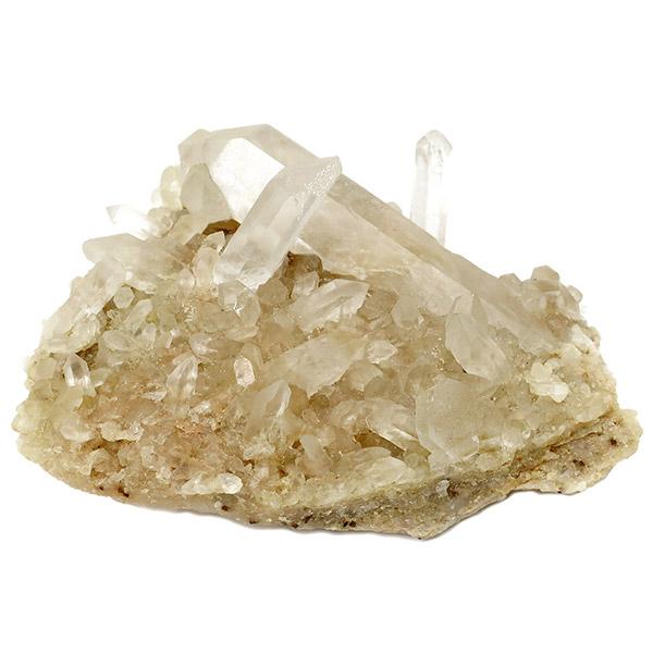 ヒマラヤ クル マナリ産 水晶クラスター 約131g ヒマラヤ水晶 クラスター 天然石 パワーストーン 水晶 浄化 原石 天然水晶 クォーツ ヒマラヤ水晶クラスター プレゼント 人気