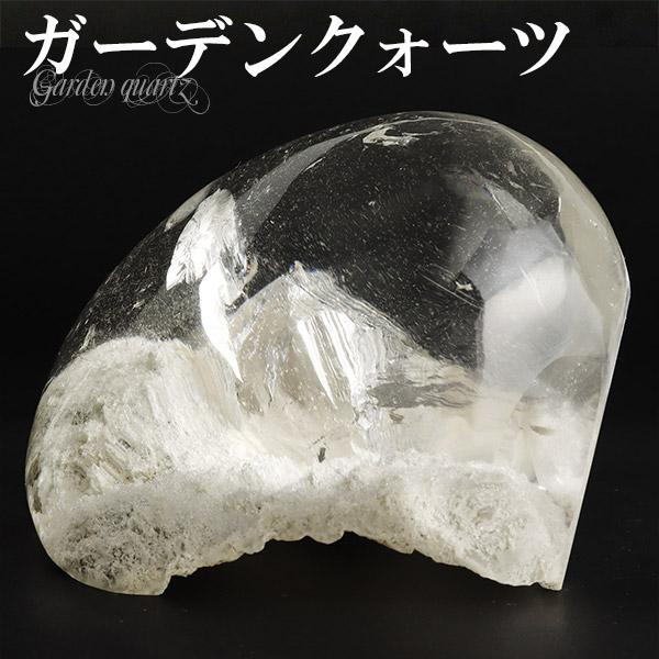 ガーデンクォーツ 貫入水晶 磨き原石 212g 天然石 パワーストーン 原石 水晶 ガーデンクオーツ 置物 希少 プレゼント 人気