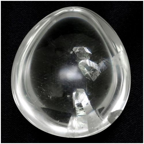 天然 貫入水晶 タンブル 約23.1g 天然石 パワーストーン 水晶 原石 置物 クォーツインクォーツ 天然水晶 希少 クリスタルクォーツ プレゼント 人気