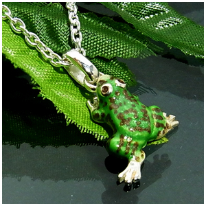 カエルの シルバーネックレス SILVER 925 銀の蔵 レディース ネックレス 女性用 ペンダントネックレス レディースネックレス ネックレスレディース プレゼント 人気 かわいい おしゃれ