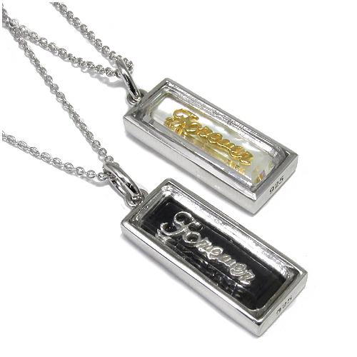 entiere マザーオブパール オニキス シルバー メッセージ ペアネックレス 925 銀の蔵 ペア ネックレス ペンダント お揃い お揃いペアネックレス カップル 人気ペアネックレス ブランド プレゼント おしゃれ