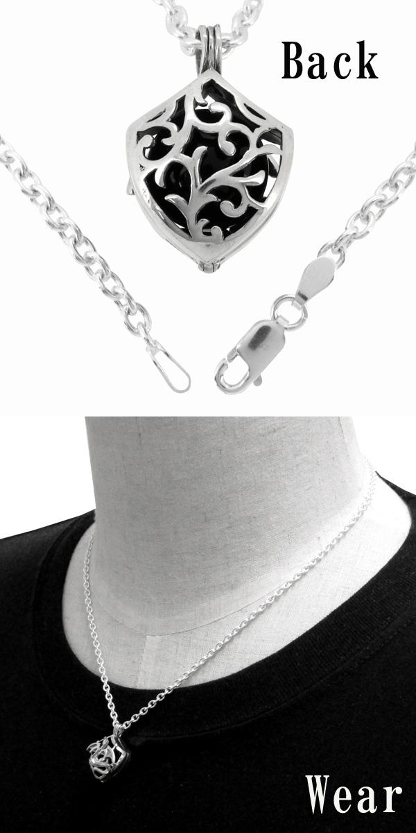 Shinjuku gin no kura rakuten global market silver necklace silver necklace dragon cage silver jewelry mens necklaces mens necklace mens necklace pendant onyx aloadofball Image collections