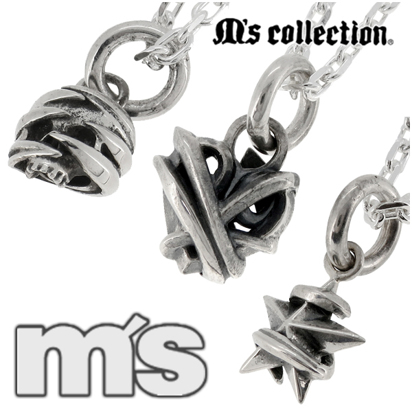 Tentacles charm silver necklace Silver 925 mens necklaces mens necklaces  charms skull heart skull star Ivy nail men's necklaces men's Necklace